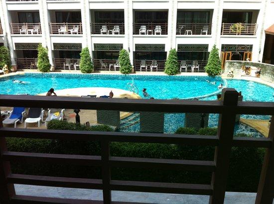 Amata Patong: 眺め良し