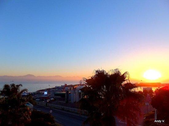 Protea Hotel by Marriott Mossel Bay: Uitzicht vanuit onze kamer 's morgens