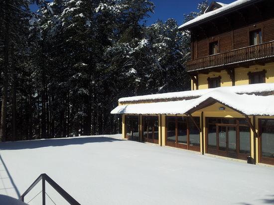 Grand Hotel Parco dei Pini: con la neve