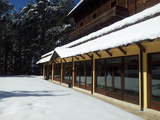 Grand Hotel Parco dei Pini: La neve seria