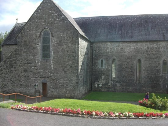 Ballintubber Abbey: exterior of church