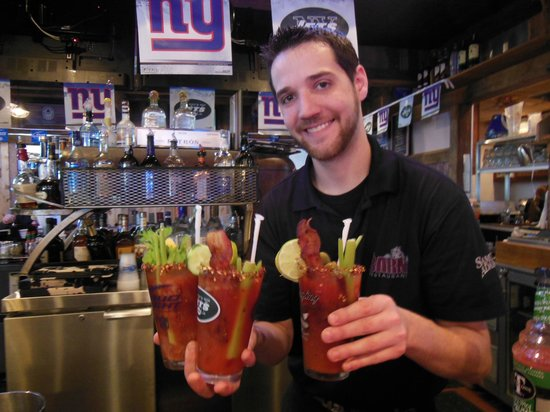 Rockaway River Barn: Bloody Mary Sunday!