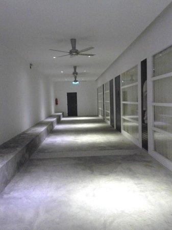 The Villa Langkawi: the walkway