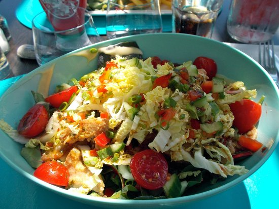 Salade croquante tha trop bonne picture of carre for Carre bleu