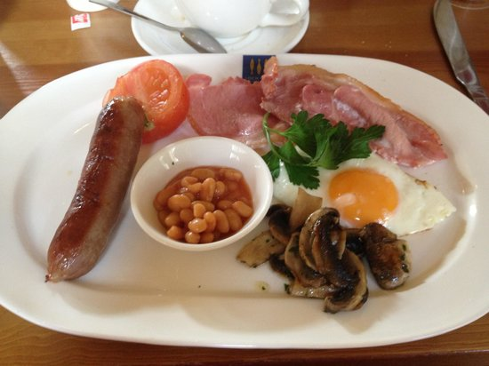 Loch Fyne Milsoms Hotel: Full English, the best part of the stay!