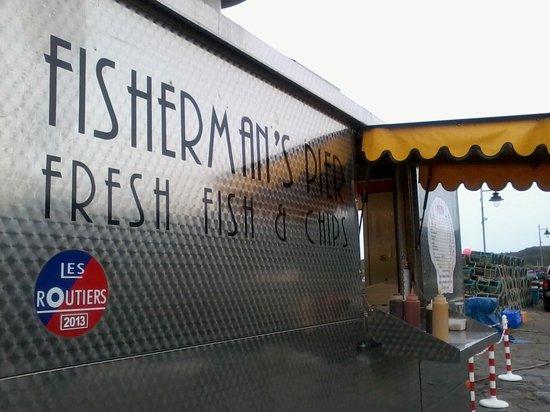 Fishermans Pier Fish & Chip Van : Not your usual fish & chip van!