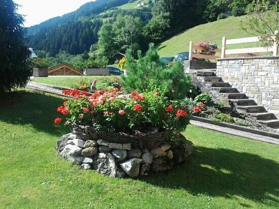 Residence Garni Melcherhof: giardino