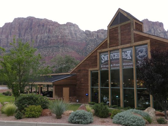 SWITCHBACK GRILLE & TRADING COMPANY: The restaurant