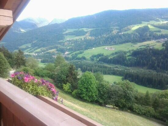 Residence Garni Melcherhof: panorama dal terrazzino