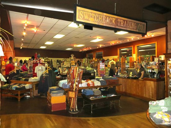 SWITCHBACK GRILLE & TRADING COMPANY : Amazing gift shop
