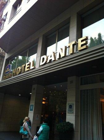 Best Western Premier Hotel Dante: Fachada