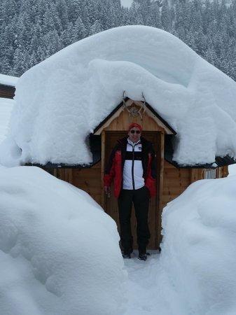 Unter dem Birg, Schweiz: Wie auf (Schnee)- Wolke 7 lotuskw@