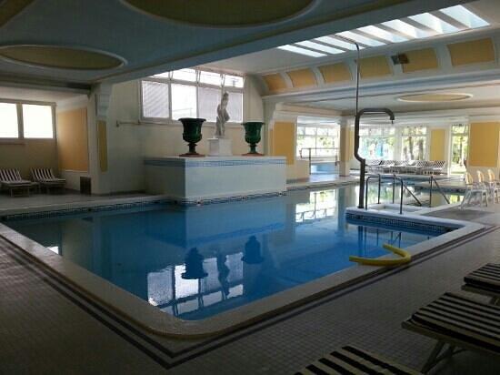 Hotel Terme Metropole: piscina termale interna