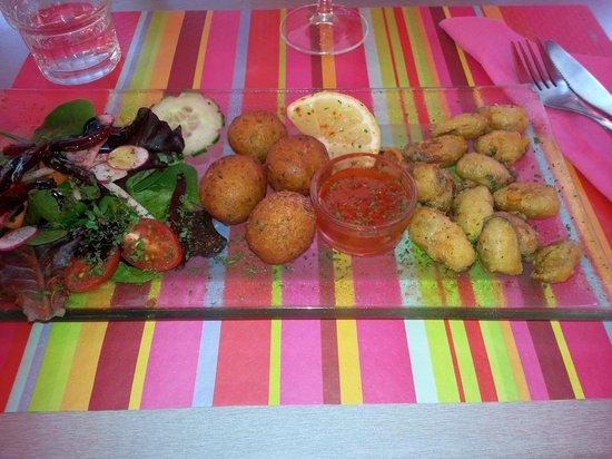 L'Assiette Amoureuse : Accras de morue et tempuradas de moules