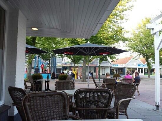 Hotel Aquadelta: terrasse
