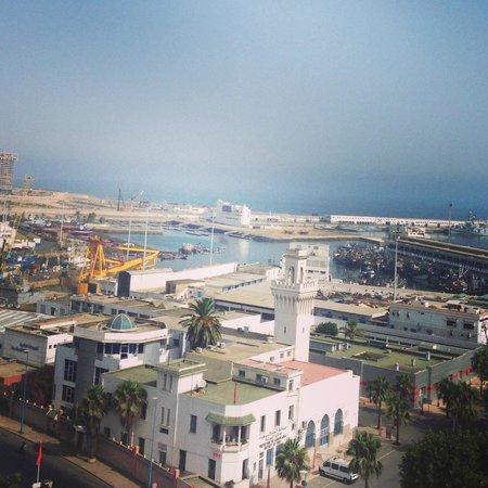 Hotel Anfa Port: Vue sur l'océan