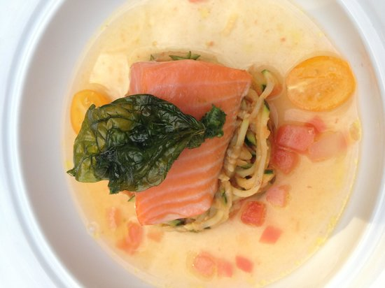Painted Lady: Salmon appetizer