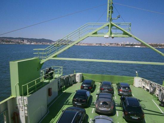 Troia, Portugal: Travessia de Ferry Boat - Tróia p Setúbal