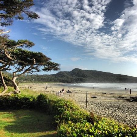 Pacific Sands Beach Resort : cox bay