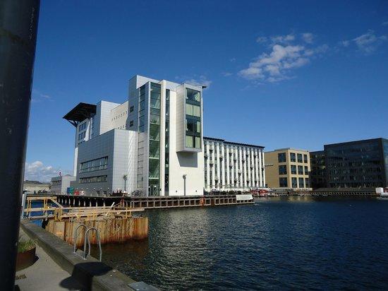 Copenhagen Island Hotel: Hotelansicht Rückseite