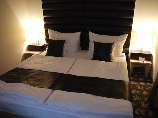 Buda Castle Fashion Hotel: The immaculate room