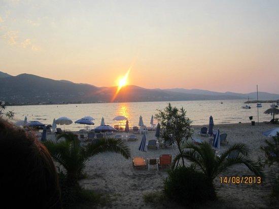 Alykanas Village Hotel: sunset