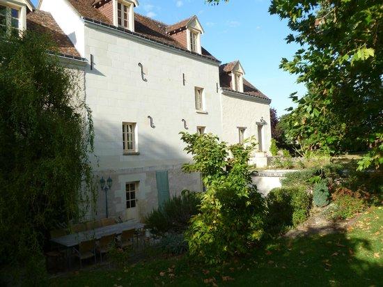 Moulin du Fief Gentil : jardin et terrasse