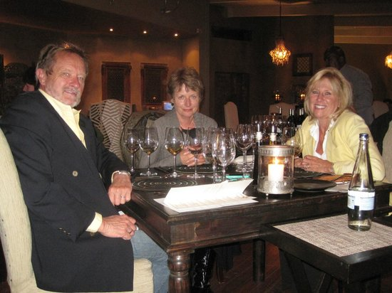 Zinzi: Christa of Christiana Lodge & Linda & Ole of Aquavit Guest House