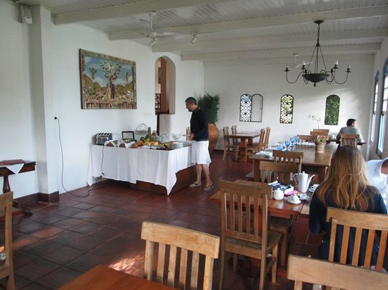 Pousada Picinguaba: breakfast room