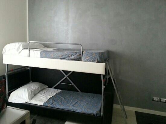 Letto a castello foto di atmosphere suite hotel rimini - Foto letto a castello ...