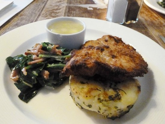 The Kings Arms Hotel : tasty meal