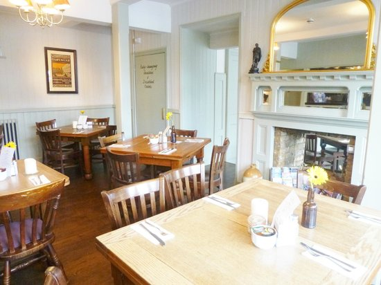 The Kings Arms Hotel : dining/breakfast room
