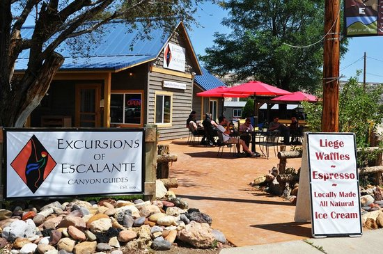 The Cafe at Excursions of Escalante