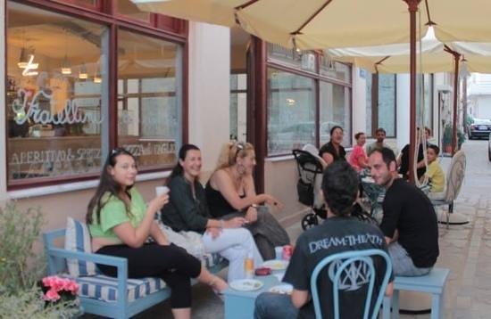 I fratellini italiani kardamena restaurant reviews for Ristorante kos milano