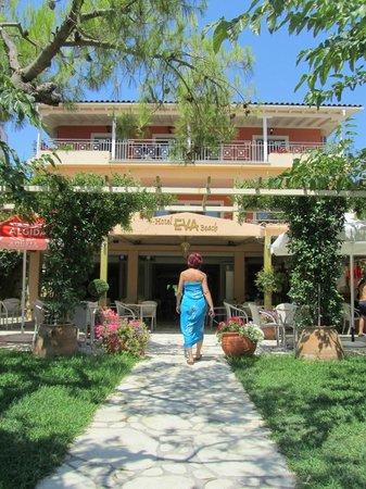 Eva Beach Hotel : Hotel Eva Beach