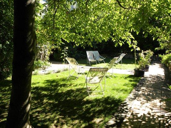 Le Clos des Iris : giardino