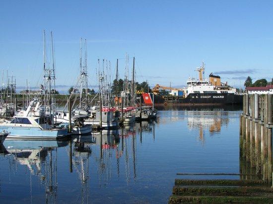 Super 8 Sitka: Sitka wharf