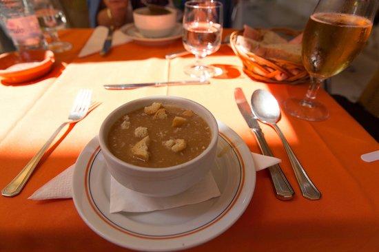 Restaurante O Batel: fish soup