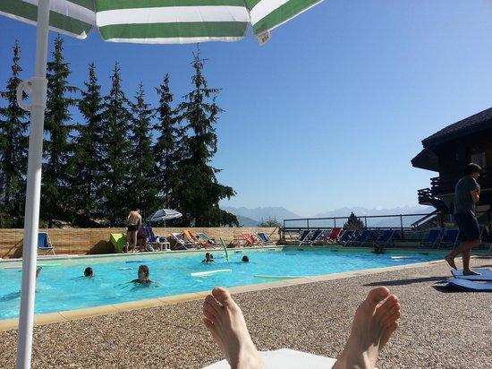 Hôtel Club mmv Plagne Montalbert Les Sittelles : La piscine