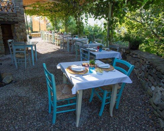 Borgo di Carpiano : Table du petit déjeuner