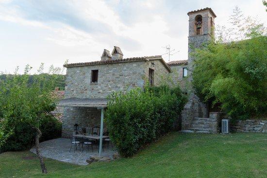 Borgo di Carpiano : Vue sur notre chambre