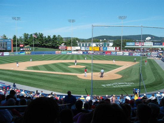Reading Fightin Phils, FirstEnergy Stadium: Center Field