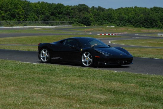 Englishtown, NJ: Drive your dream car on a real race track!