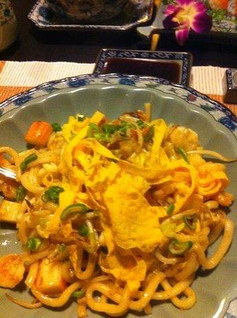 Roppongi: udon di pesce