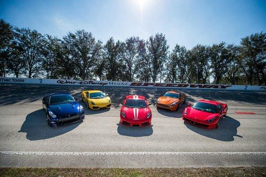 Ferrari, Lamborghini, Porsche, Audi, Nissan and Aston Martin ...