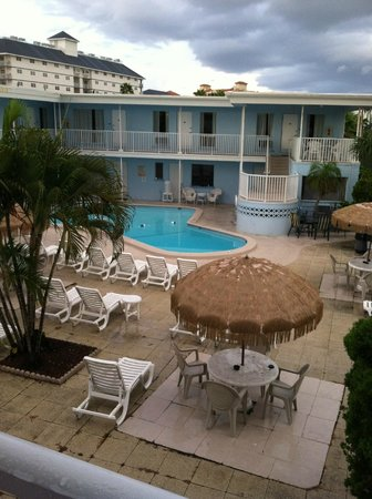 Gulf Beach Inn : Another great view of hotel