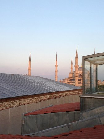 Ibrahim Pasha Hotel: Another view from the rooftop bar