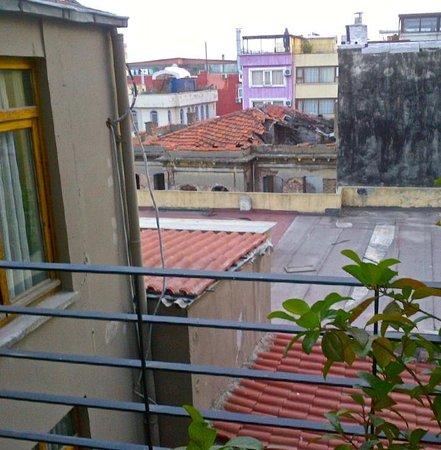 Ibrahim Pasha Hotel: View from my balcony