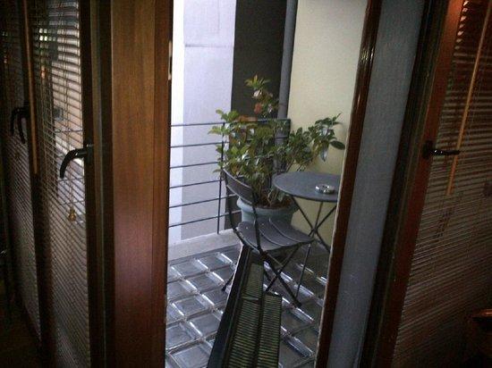Ibrahim Pasha Hotel: My little sweet balcony