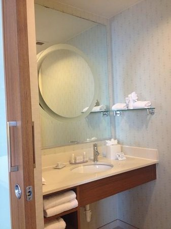 SpringHill Suites San Antonio SeaWorld®/Lackland: shower area sink